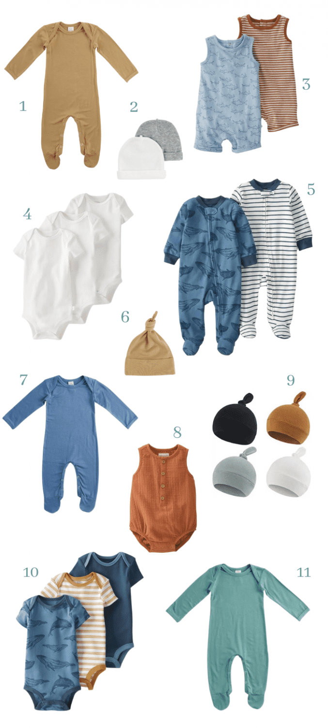 baby boy neutral colored baby clothes ideas