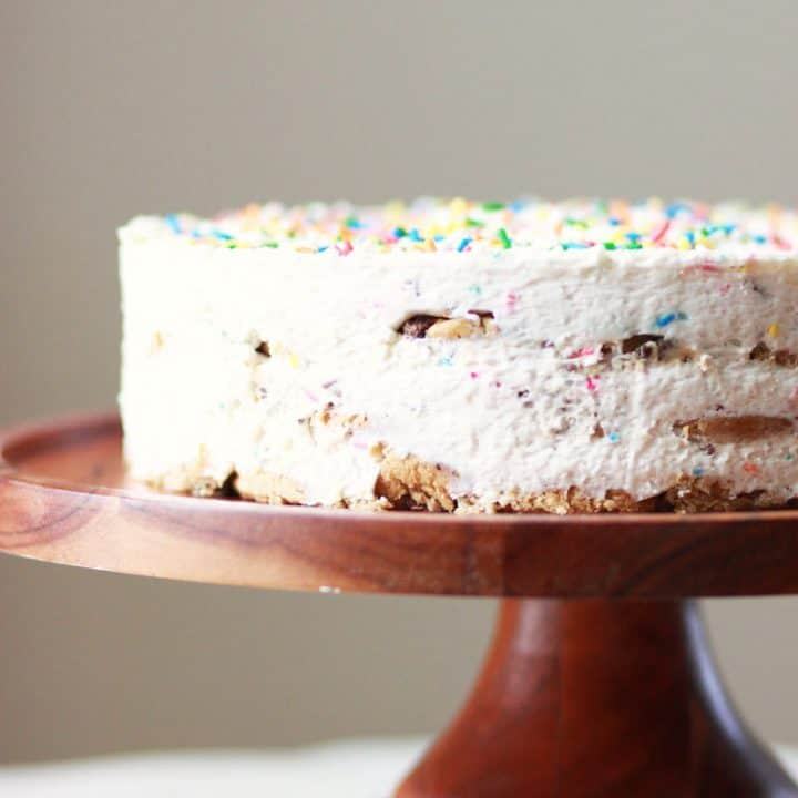 Gluten Free Funfetti Icebox Cake